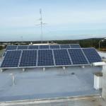 Fotovoltaico 3,00 kW Giugianello (LE), struttura in alluminio, panelli tedeschi Shott Solar 1- Installato impianto 3,00 kWp con moduli tedeschi Shott Solar