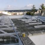 1- installazione struttura impianto fotovoltaico