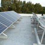 Fotovoltaico 3,00 kW Giugianello (LE), struttura in alluminio, panelli tedeschi Shott Solar 2- Struttura completamente in Alluminio con bulloneria in acciaio