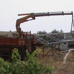 3-Erezione turbina FYO 25-20 kW