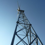 4- vista dal basso turbina  FYO 25-20 kW