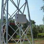 5- Ruffano (LE) FYO 25-20 kW Quadro di controllo fissato sul traliccio
